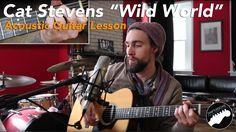 "Acoustic Guitar Lesson - ""Wild World"" By Cat Stevens"