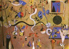 The Harlequin's Carnival, Joan Miro, 1925