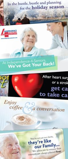 Postcards For Home Care Clients Marketing Homecare