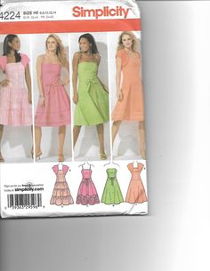 SIMPLICITY 4224 by CraftingMoose on Etsy