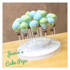 Hot Air Balloon Cake Pops от JamiesCakePops на Etsy