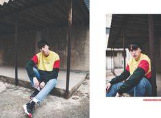 Slide www.kaotikobcn.com Made in Barcelona #kaotikobcn #clothing #boy #girl #lookbook #red #yellow #green
