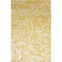 Earth Dandelion ER17 Golden Apricot Area Rug Jaipur Rugs | Furniture Cart