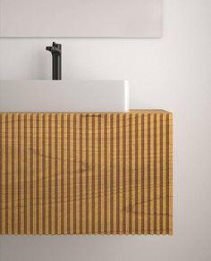 Hoy os presentamos una de las #novedades que nos ha presentado uno de nuestros proveedores: #codisbath Se trata del modelo #stecche realizado en madera de #paulownia, una madera natural muy ligera. Nos encanta su #diseño alistonado. Le aporta personalidad y diseño. Si queréis saber más de este baño venid a #Officehogar y os lo presentamos. #fcovitoria15 #cocinasybañosenzaragoza #proyectos #reformascocinaszaragoza #reformasbañoszaragoza Model, Cuisine Design, Hardwood, Personality, Home, Blue Prints