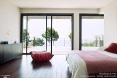Villa contemporaine de 350m2, en R+2, bord de mer, piscine, Frédérique Pyra - #chambre