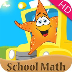 1st Grade Math: Back to School Splash Math Fun games app