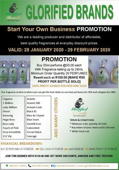 Start your own business. ✅ Call to action. Perfume Making, Call To Action, Starting Your Own Business, Perfume Oils, Promotion, How To Find Out, Branding Design, Finding Yourself, Fragrance