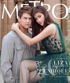 Liza Soberano and Enrique Gil Enrique Gil, Liza Soberano, Hollywood Actresses, Actors & Actresses, Filipino Models, Young Actors, Couples In Love, Celebs, Celebrities