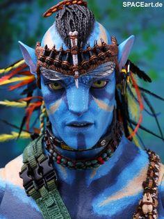 Avatar: Jake Sully, Deluxe-Figur (voll beweglich) ... http://spaceart.de/produkte/avt002.php