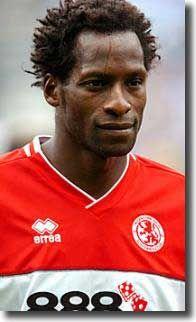 Ugo Ehiogu Middlesbrough Ugo Ehiogu Leeds United Players Middlesbrough Fc Retro