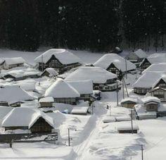 Maezawa village Aizu, Japan