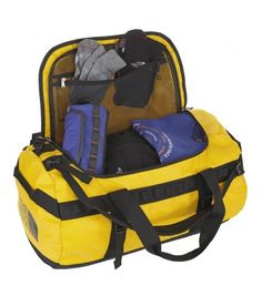 Storage Bags - The North Face Base Camp Duffel. Take #bags that are strong, durable and can fit loads of stuff in! The Base Camp #Duffel bag ticks all of those boxes. #campingchecklist £90.00