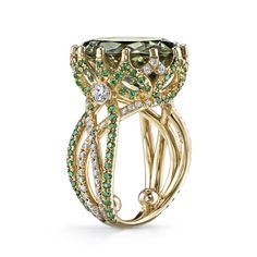 Csarite Crossover Ring by Erica Courtney, Inc.