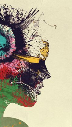 Artist Portrait iPhone 5 Wallpaper