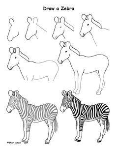 Dessin Girafe J Apprends à Dessiner Drawi