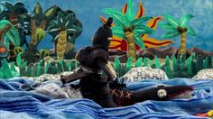 """""""Our weapon is our Tongue"""" is a stopmotion animated short entirely made of cloth. It has been screened in more than 160 festivals arround the world, wininig 37 awards."""