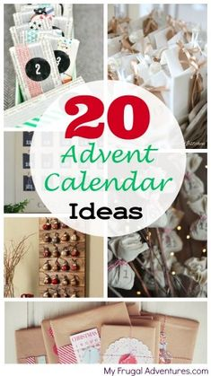 20 Fun Ideas for Advent Calendars- to make or to buy!