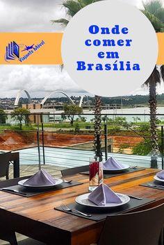 O restaurante Nau é uma excelente opção para quem gosta de frutos do mar. Além de poder curtir um cartão  postal de Brasília, a Ponte JK (Juscelino Kubitschek).