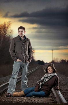 Photography Poses On Railroad Tracks | Photography~Train Tracks