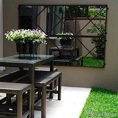 1000 Ideas About Outdoor Mirror On Pinterest Garden