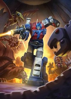 Autobot Ultra Magnus Artwork From Transformers Legends Game