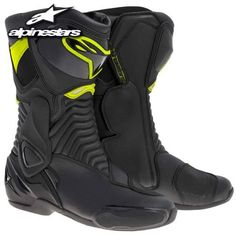 Alpinestars Smx-6 Boots , Primary Color: Black, Size: 49, Distinct Name: Black/yellow, Gender: Mens/unisex 2223014 http://www.motorcyclegoods.com/best-13-sport-boots-for-men/