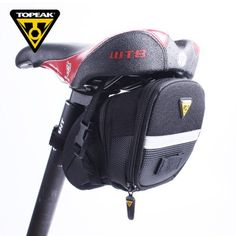 Hoy con el 50% de descuento. Llévalo por solo $84,200.TOPEAK Aero Wedge Ampliado Diseño La bolsa de sillín de la bicicleta.