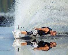 wake boarding - great shot!