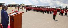 Amiri Jeshi Mkuu Rais Magufuli Atunuku Kamisheni Kwa Maafisa Wapya 165 Wa JWTZ Ikulu Jijini Dar Es Salaam