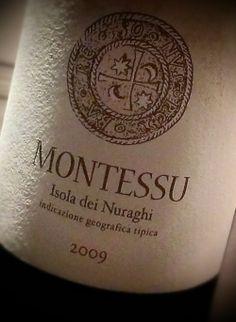 Piacere di conoscerti, mi chiamo Montessu!  Montessu 2009 Agricola Punica - vini di Sardegna