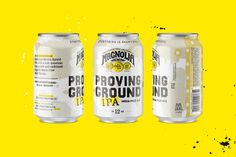 Proving Ground IPA Can. Craft Beer Packaging Design for Magnolia Brewing in San Francisco, CA. by Gamut.