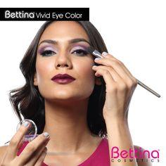 """Nuestras sombras """"Vivid Eye Color"""", dan #color de alta pigmentación y cuentan con excelente fijación. Y lo mejor, las tenemos en más de 15 colores! #eyeshadow #makeup"""