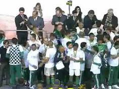 Coritiba X Palmeiras, Gols e Taça - Final Copa do Brasil 2012