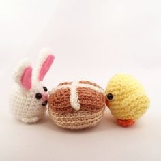 Make a hot cross bun amigurumi to remind you of snack time.  Check out this crochet pattern by @knotyourhooker - she used our Heartland yarn because of the yummy colors.