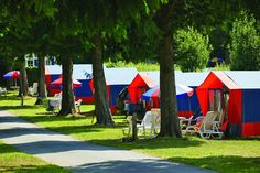 Camping***** Le Domaine des Ormes - Epiniac #Camping #Bretagne #Dol #Tentes