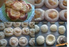 Slavonické koláčiky plnené tvarohom a s výbornou jabĺčkovou plnkou