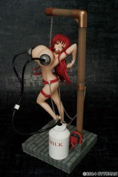 HENTAI SERIES : MILKING GIRL RED LEATHER VER. VOL. 01