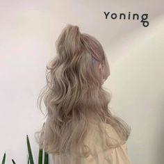 Hair Dye Colors, Ombre Hair Color, Dye My Hair, New Hair, Korean Hair Color, Peekaboo Hair, Pretty Hair Color, Hair Shades, Coloured Hair