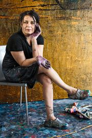 Nanna Susi, Finnish painter Kate Pugsley, Grand Art, Contemporary Artists, Painters, Amazing Women, Cool Art, Studios, Illustration Art, Portraits