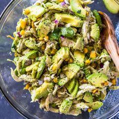 Healthy Avocado Chicken Salad |