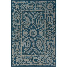 Surya Armelle Navy Indoor Handcrafted Bohemian/Eclectic Area Rug (Common: 8 x Actual: W x L) at Lowe's. The Theodora Collection showcases traditional inspired designs that exemplify timeless styles of elegance, comfort, and sophistication. With their hand Wool Area Rugs, Beige Area Rugs, Wool Rug, Armelle, Thing 1, Traditional Area Rugs, Rectangular Rugs, Rectangle Area, Rug Shapes