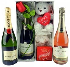 Gifts 2 the Door offers great deals on valentines gifts for her. Valentine Day Special, Valentines Gifts For Her, Valentines Day, Moet Chandon, Special Occasion, Champagne, Bottle, Valentine's Day Diy, Flask
