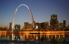 St. Louis ArchWay nel St Louis, MO