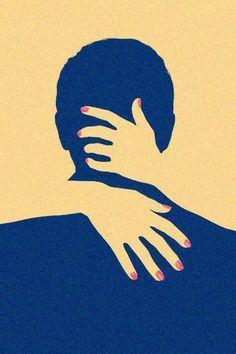 Percepción figura-fondo: En esta imagen podemos percibir que no solo existe la figura de un hombre de espaldas, sino que también están las manos de una mujer que lo abraza y se pierde en el fondo.