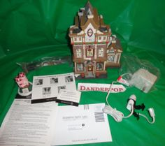 New Dept. 56 Department 56 Victoria's Doll House Retired Christmas In The City find me at www.dandeepop.com #dandeepop