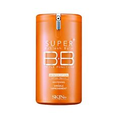 NEW Skin79 Super Plus Triple Functions BB Vital Cream SPF 50+ PA+++ Upgraded Sunscreen with UVA and UVB protection SPF50. Strengthen's skin NMF and maintain balanced skin condition. Osmopur-N and Vital-V Complex soothe and protect skin from various harmful environments to make a moisturized, healthy skin. For this skin type 1.Oily Skin 2.Wide pore skin 3.Dull skin tone 4. Wrinkle & Dry skin $14.28
