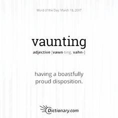 vaunting
