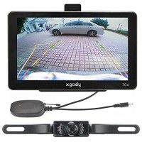 """7"""" Car GPS Navigation + Wireless Reverse Camera Bluetooth Av-in New Map 4gb POI http://themarketplacespot.com/wp-content/uploads/2015/11/51AQaYg-2zL-200x200.jpg   Technical Specifications: CPU MTK3351 GPS Module High Sensitive GPS Receiver Memory Size 128MBytes Displaying Screen 7 inch TFT high resolution 800*480 USB USB Client 2.0, MINI USB 5PIN socket SD Slot Micro SD socket, MAX Micro SD card up to 8GB Audio A: Built-in 1W/ 8 ohm B: Stereo track: 0.25W/CHANEL, single track"""