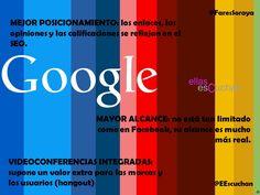 Beneficios sobre Google +
