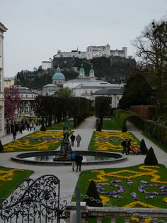 Mirabel Palace Gardens - Salzburg, Austria